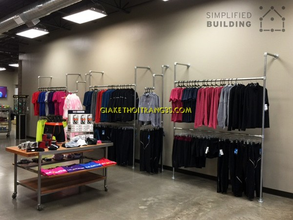 wall-mounted-clothing-racks-organized
